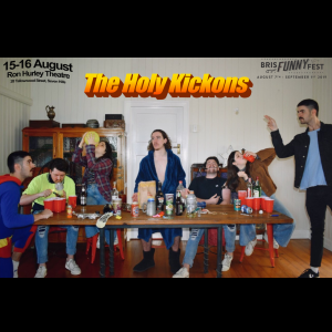 The Holy Kickons, performed by Finbar Martinez-Bennett, Angus McLeod, Will Lambert, Skye Fellman