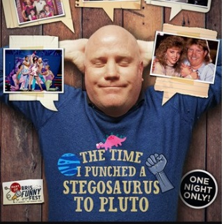 The Time I Punched a Stegosaurus to Pluto, performed by Andy Thompson