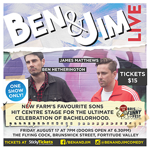 Ben & Jim: Live, performed by Ben & Jim