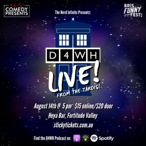 D4WH: Live From The TARDIS!, performed by Nicchia Schutt, Adam O'Sullivan, BekTech