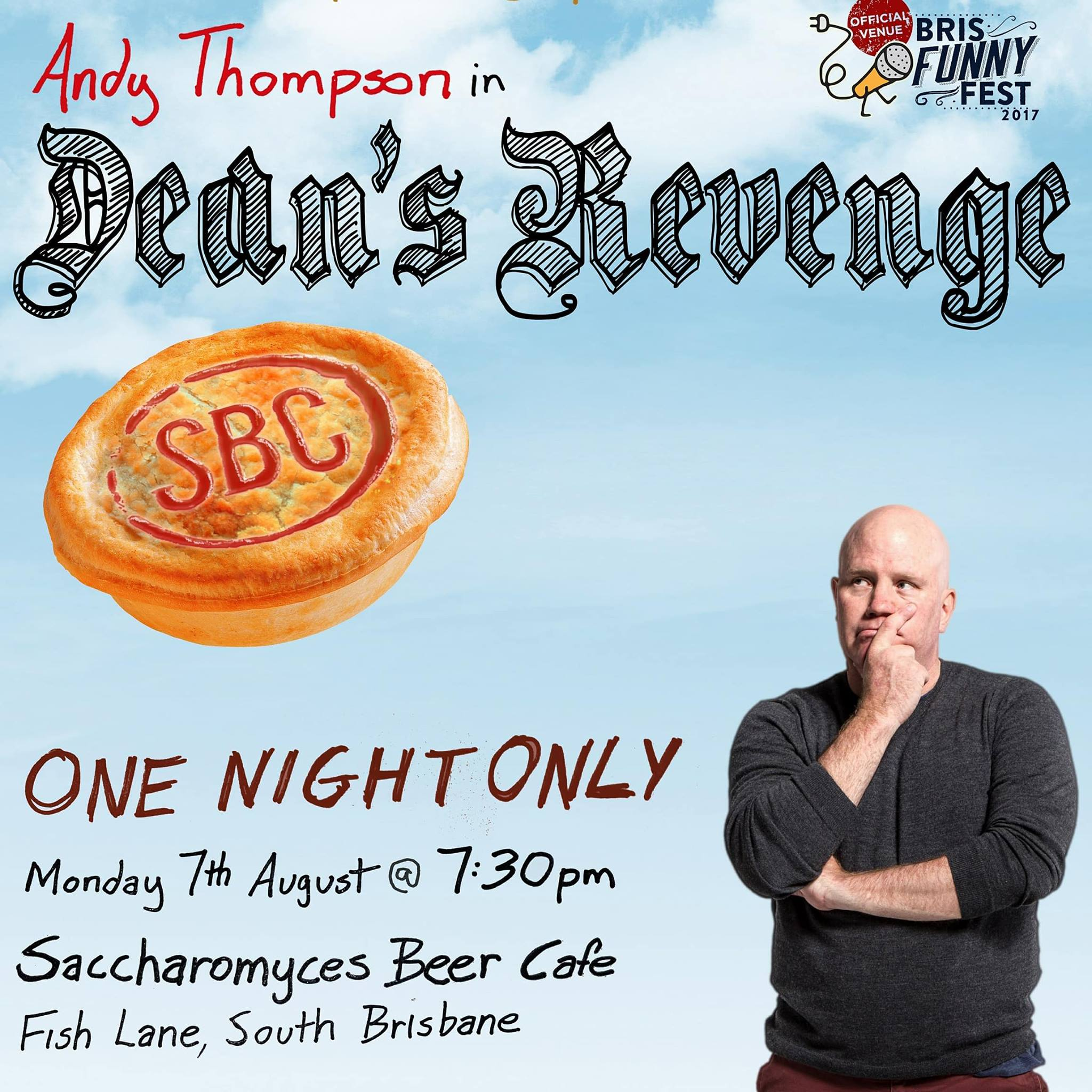 Dean's Revenge, performed by Andy Thompson