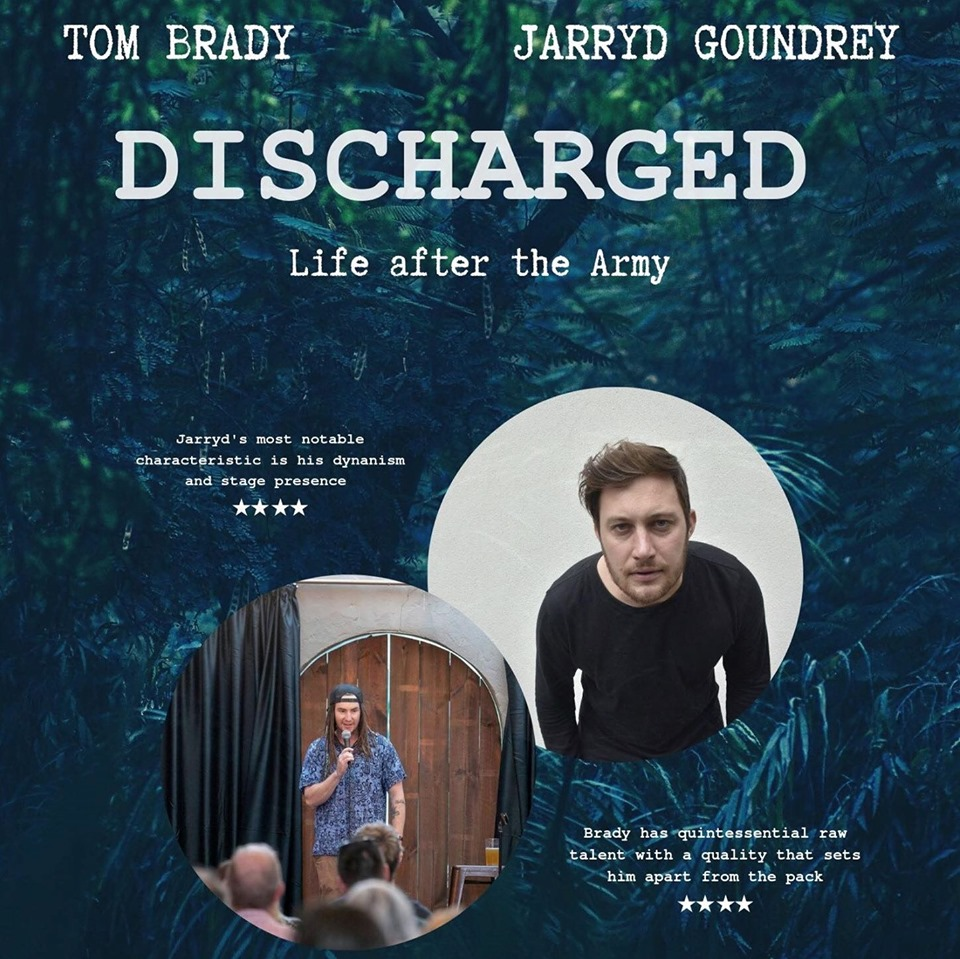 Discharged, performed by Tomas Brady; Jarryd Goundrey