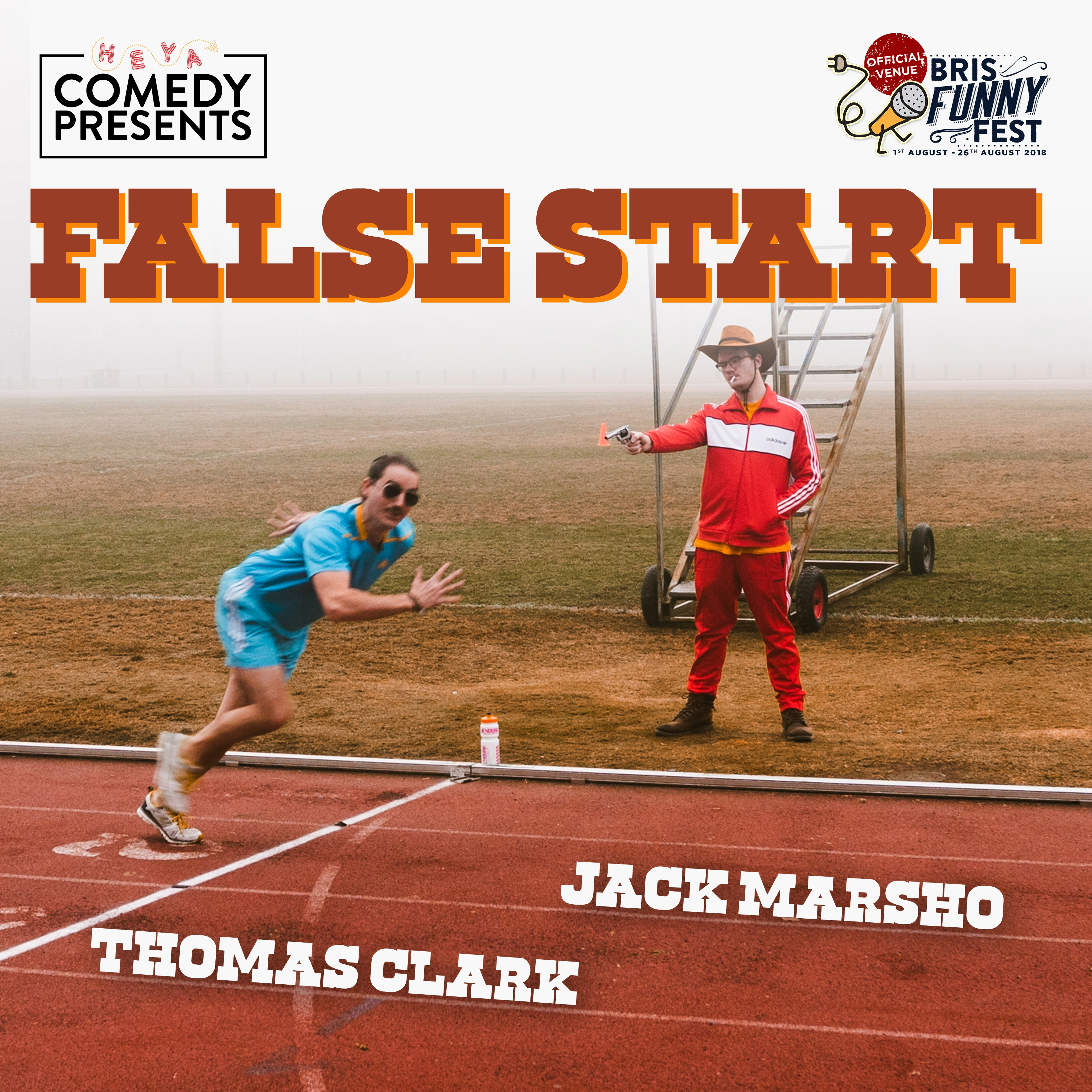 False Start, performed by Jack Marsho, Tom Clark