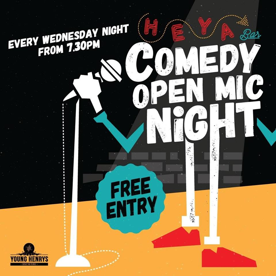 HEYA Comedy Open Mic Night