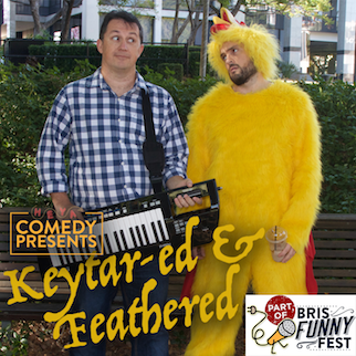 Keytar-ed and Feathered