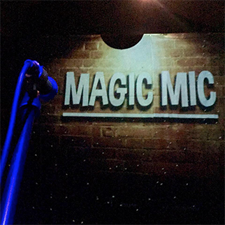 Magic Mic, performed by Chris Martin & Michael Griffin