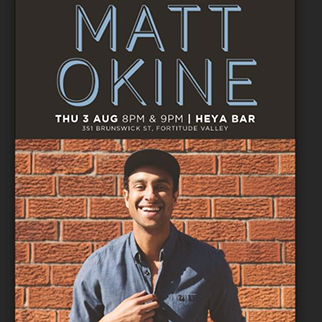 Matt Okine, performed by Matt Okine