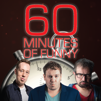 60 Minutes of Funny, performed by Chris Martin, Michael Griffin, Michael Connell