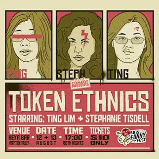 Token Ethnics, performed by Ting Lim and Stephanie Tisdell