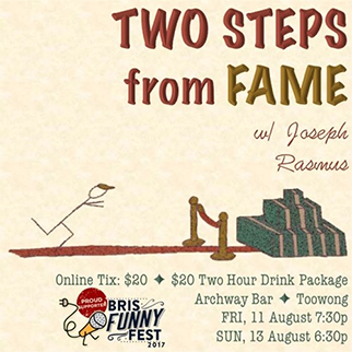 Joseph Rasmus: Two Steps from Fame